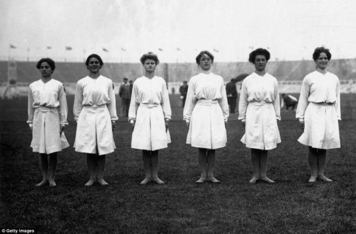 Olympic Evolution of Gymnastic Leotards