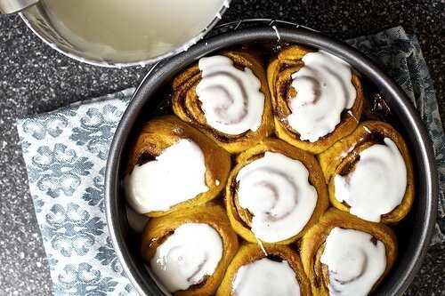 The best pumpkin cinnamon rolls от mick за 10 oct 2012