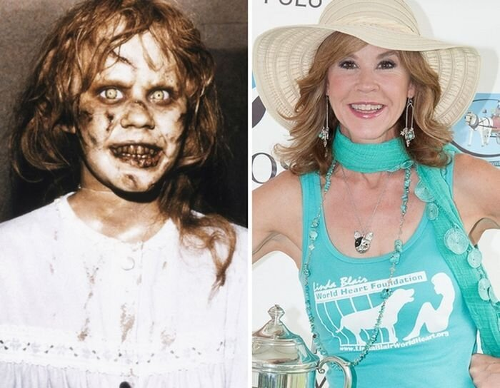 Actors from Horror Movies: Then and Now от Helen за 16 oct 2012