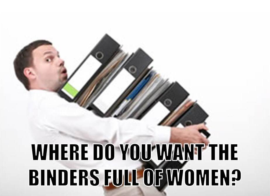 Binders Full Of Women от Kaye за 17 oct 2012