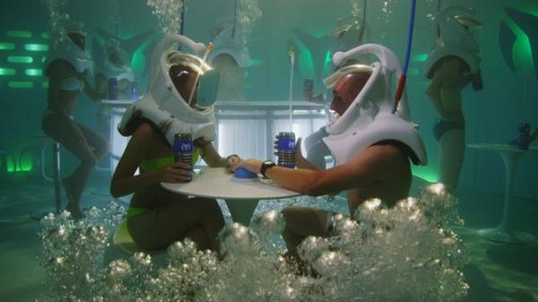 The world's first underwater nightclub