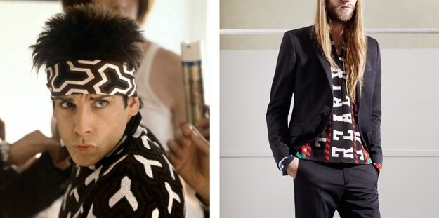 "H&M's New Line Rips off ""Zoolander""? от Kaye за 22 oct 2012"