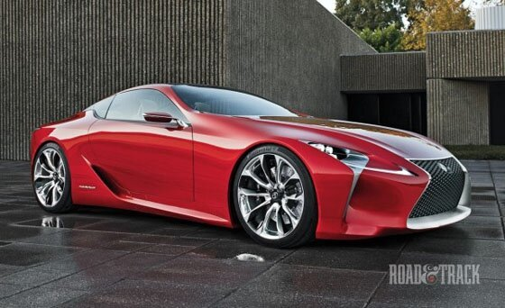 Amazing Lexus LF-LC Concept от mick за 24 oct 2012