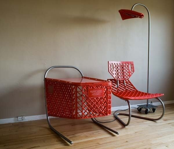 Ordinary Objects Repurposed Into Extraordinary Furniture от Veggie за 28 oct 2012
