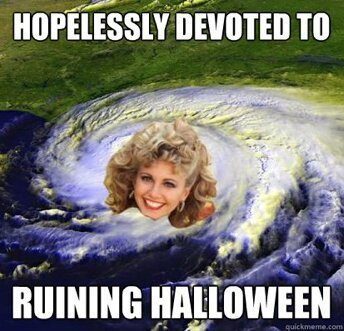 Topical Meme Alert: Hurricane Sandra Dee от Veggie за 28 oct 2012