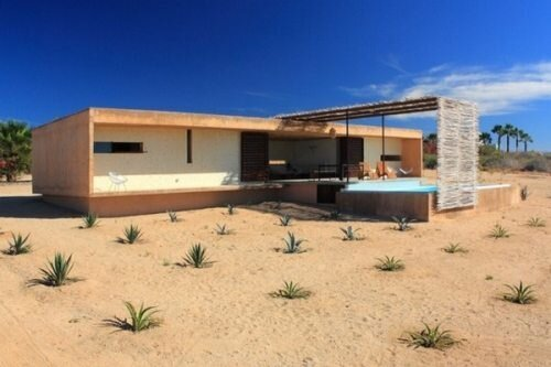 Todos Santos modern house built by Gracia Studio  от Veggie за 29 oct 2012