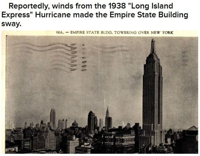 NYC And Hurricanes