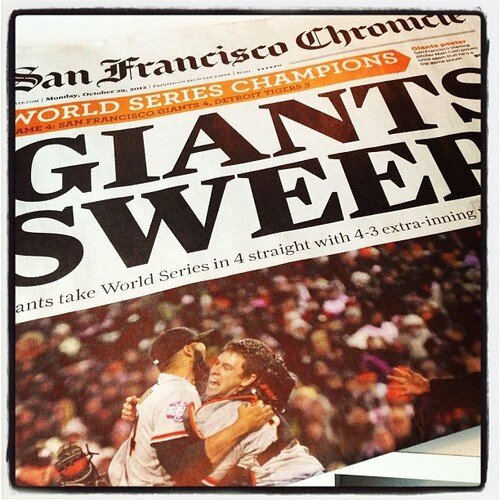 SF Riots for the Giants! от Kaye за 29 oct 2012