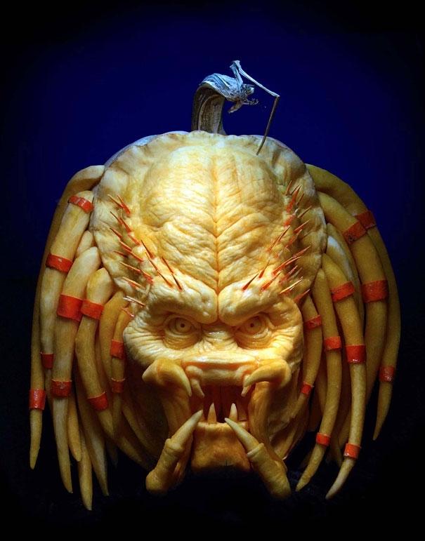 Amazing Pumpkin Carvings by Ray Villafane  от mick за 30 oct 2012