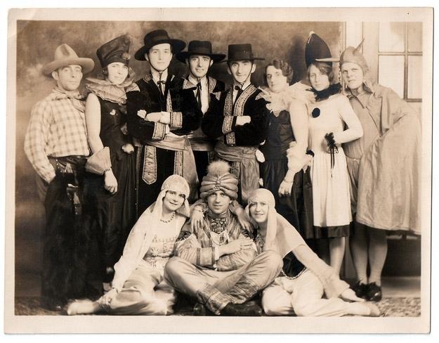 Crazy Vintage Halloween Party Snapshots