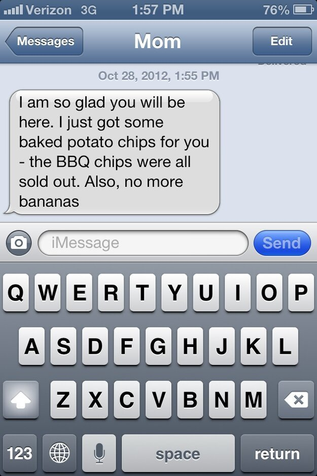 Hurricane Sandy Texts From Your Mom от Veggie за 01 nov 2012