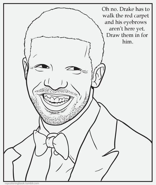 Rapper Coloring Book от Veggie за 06 nov 2012
