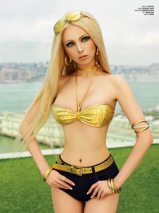 """The """"Human Barbie"""" is Actually a Real Person"""