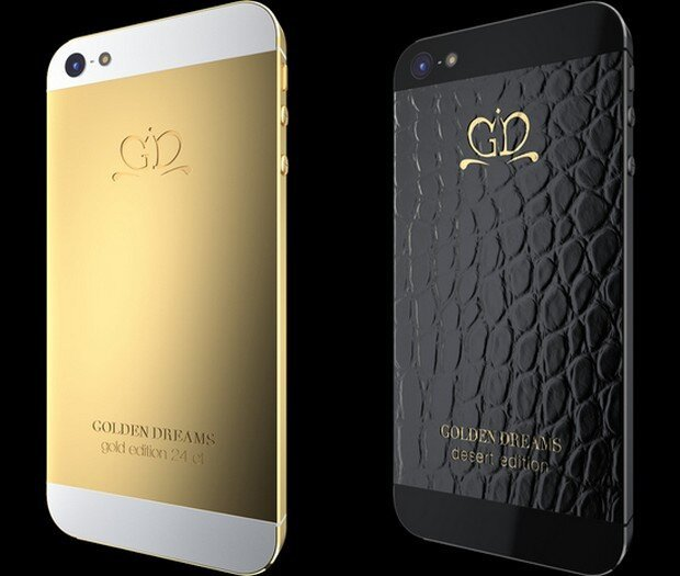 24 ct Gold + iPhone 5 = Gold Dreams