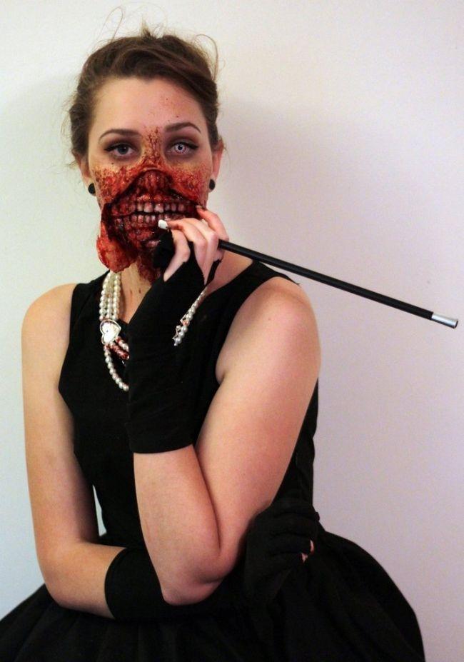 Scary Zombie Hepburn