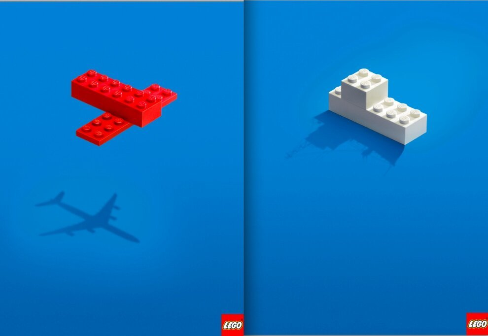 Awesome Minimalist Print Ads