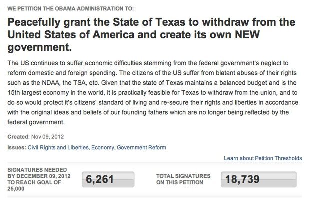 These States are Petitioning to Secede