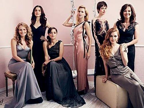 Award-Winning Actresses Cover The Hollywood Reporter от Veggie за 20 nov 2012