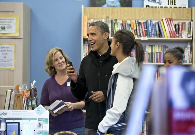"President Obama Celebrates ""Small Business Saturday"""