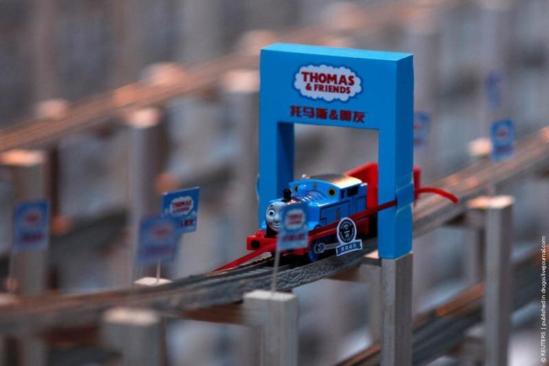 Longest Toy Train Track
