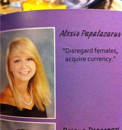 What's in Your High School Yearbook?