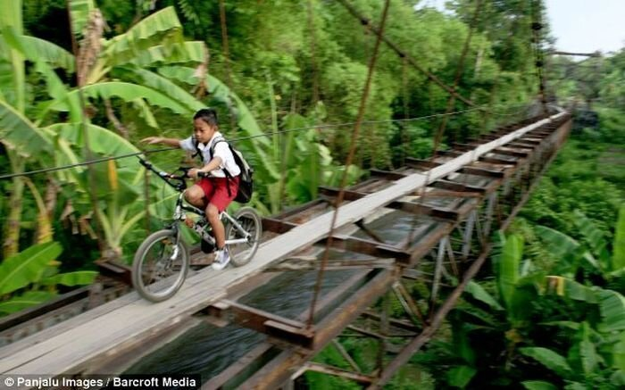 Dangerous Path to School