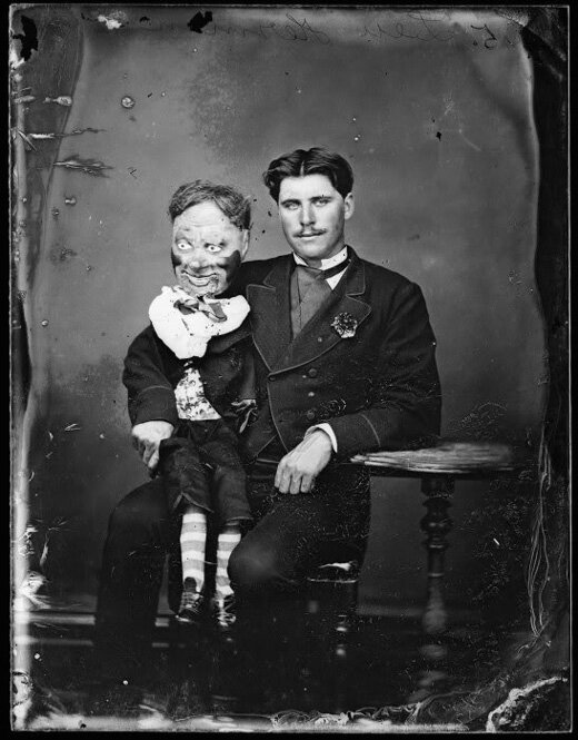 Creepy Vintage Ventriloquist Dummies