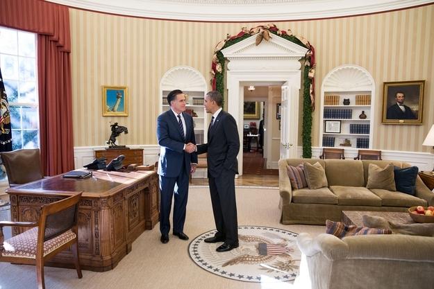Mitt and Obama Shake Hands [meme]