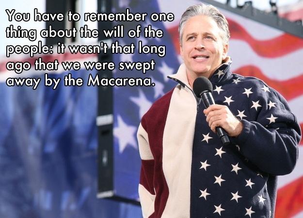 Jon Stewart Says...