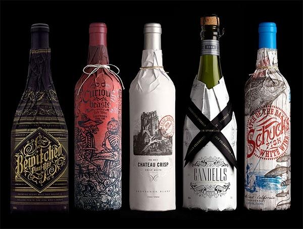 Stranger & Stranger Wine Packaging
