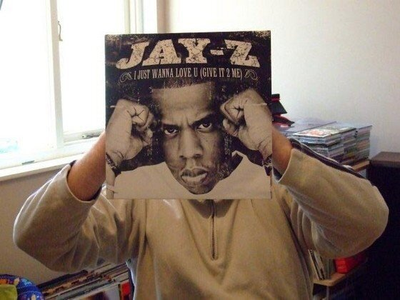 Hilarious Albums Covers Superimposed Over Your Face