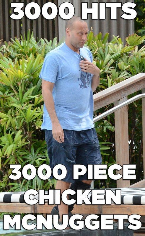 The Fat Derek Jeter Meme