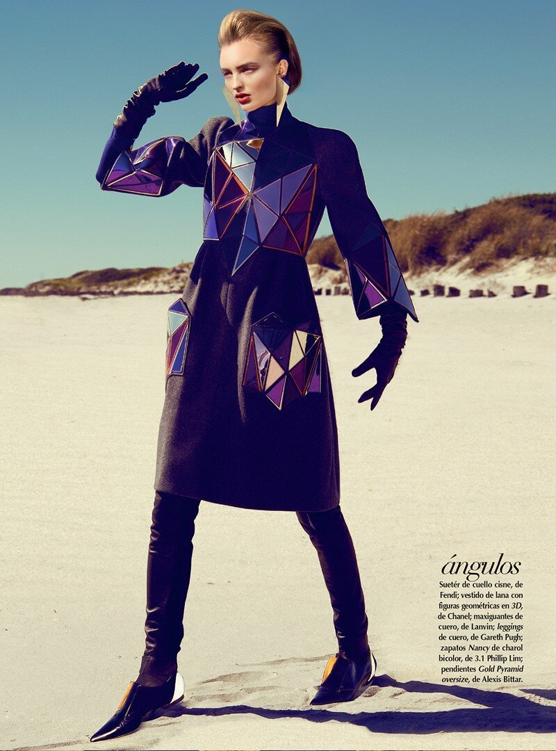 Vogue Latin America Gets Futuristic