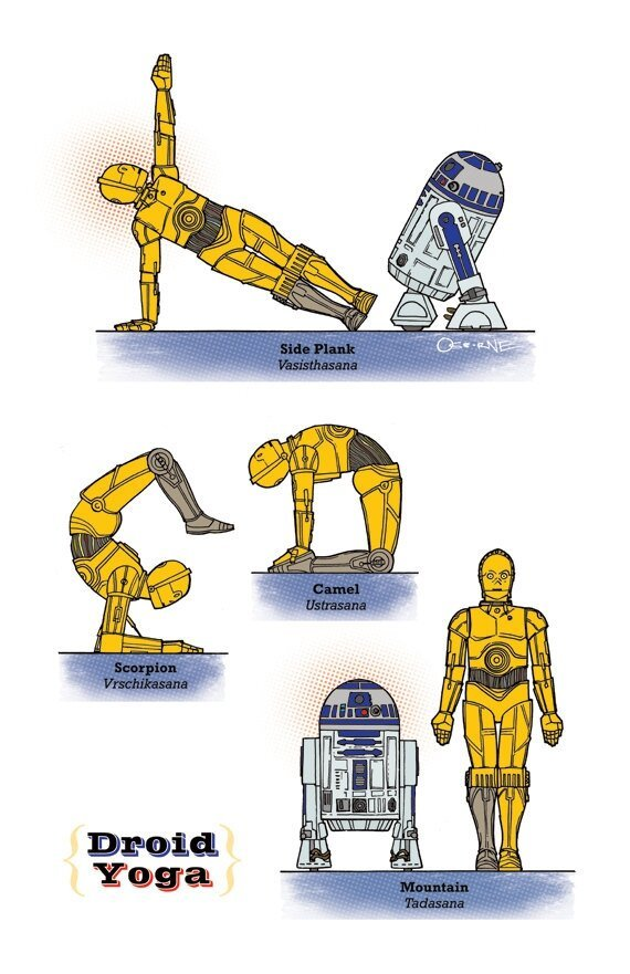 The Ultimate & Illustrative Guide To Star Wars Yoga