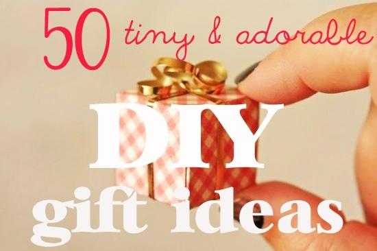 Tiny + DIY + Gifts = Success!