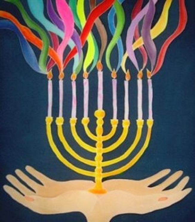Hanukkah Ain't Just Latkes & Dreidels, People