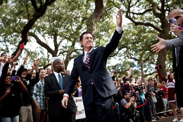 Senator Stephen Colbert!