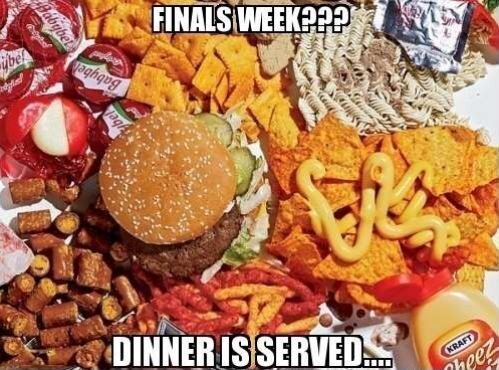 Take a break & feast your eyes on some finals week FOOD PORN