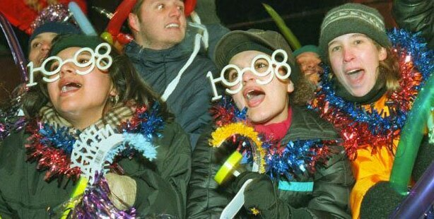 New Years Glasses Through the Years