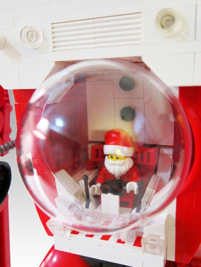 Hella Cool Santa Legos