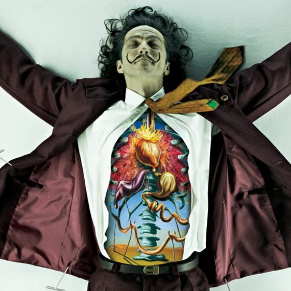 The Bodies Of Dali, Van Gogh & Picasso...Dissected