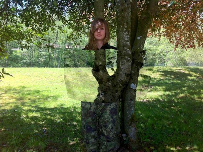 Prototype of Invisibility Cloak