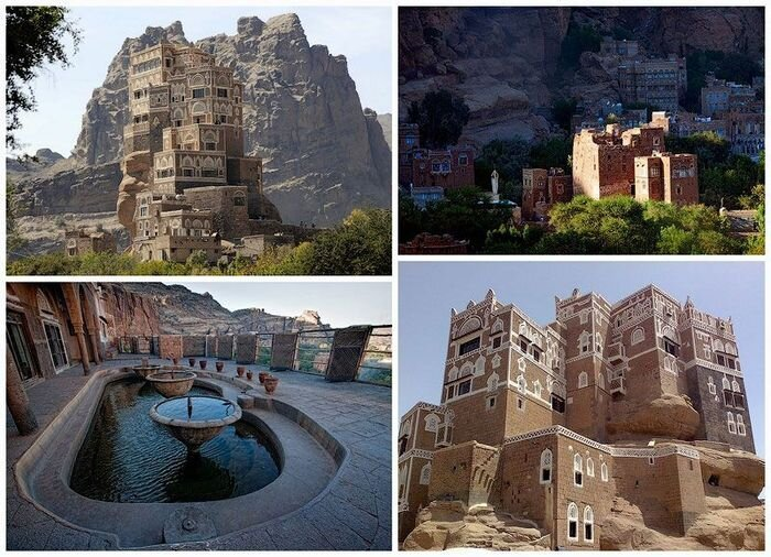 Dar al-Hajar Palace in Yemen