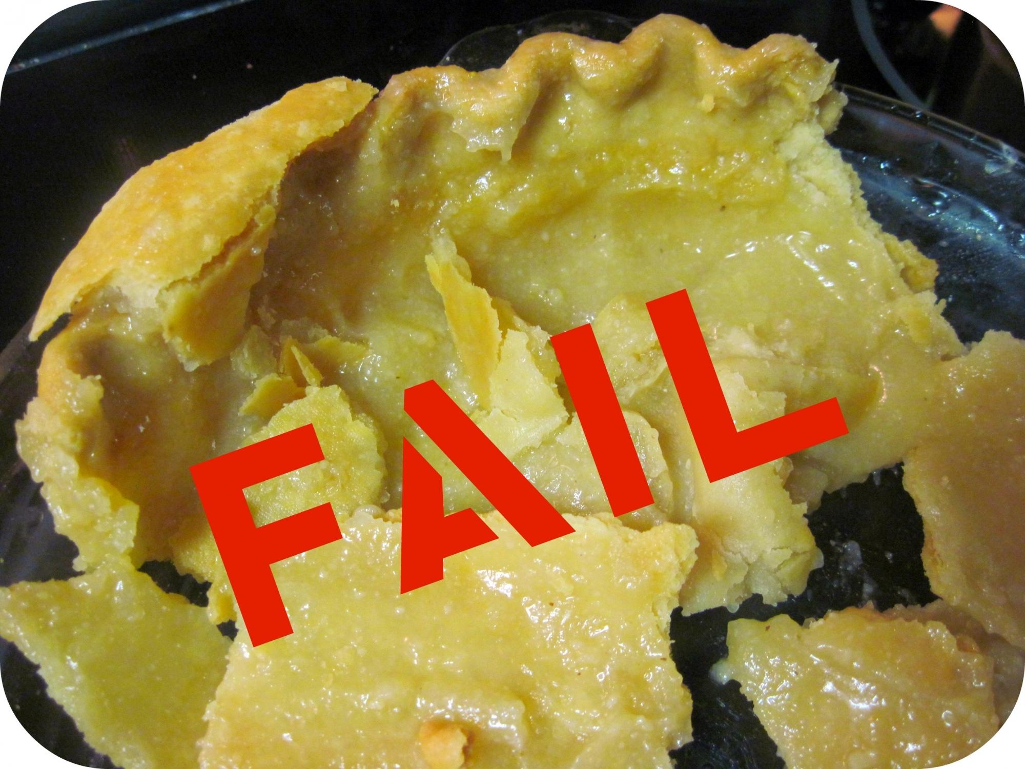 Bake Time FAIL