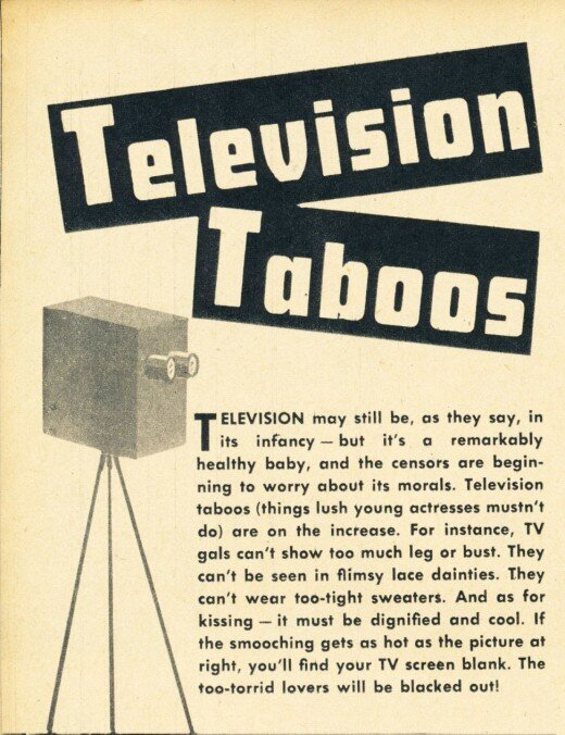 An Outrageously Funny Guide To Being On TV In 1949
