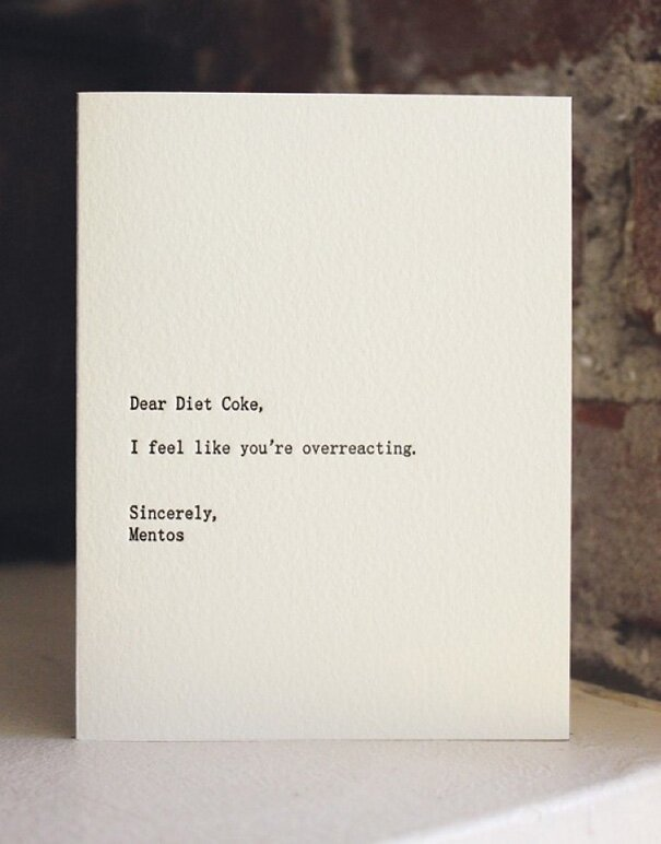 Hilarious Dear Blank, Please Blank Letters