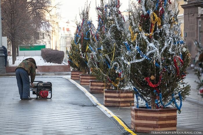 This is How Holiday Decorations Look Like in Moscow