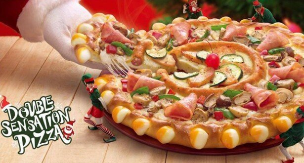 A Pizza, in a Pizza, in a Pizza, in a Pizza