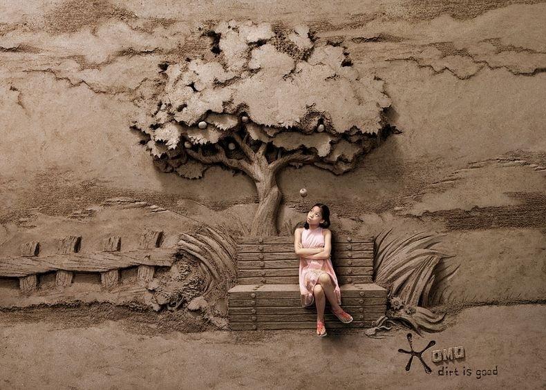 Dirt is Good: Joo Heng Tan's Sand Sculpture Backdrops