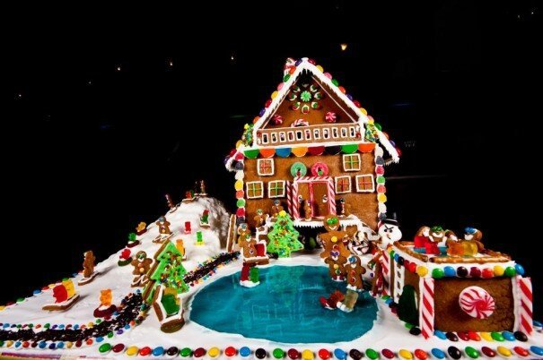 Baked Gingerbread Christmas Magic